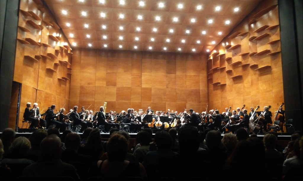 The Berlin Philharmonic on tour at the Florence Opera Hall