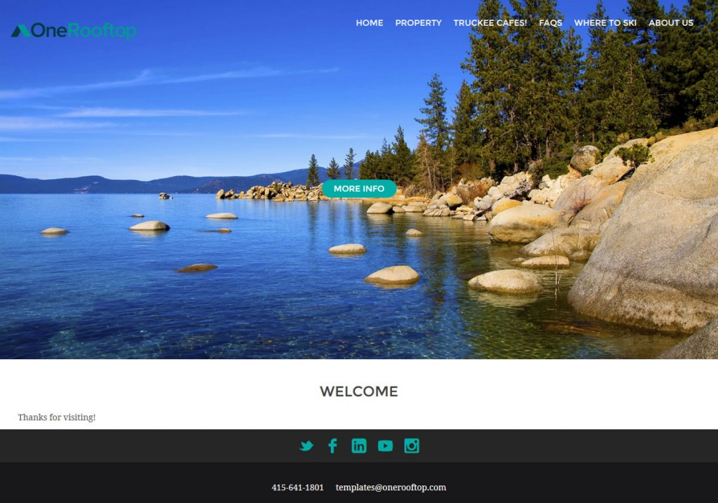 Ithica-responsive-theme-sample